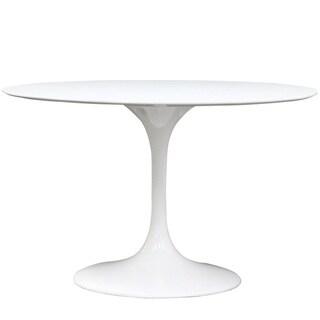 Eero Saarinen Style 48-inch White Tulip Dining Table