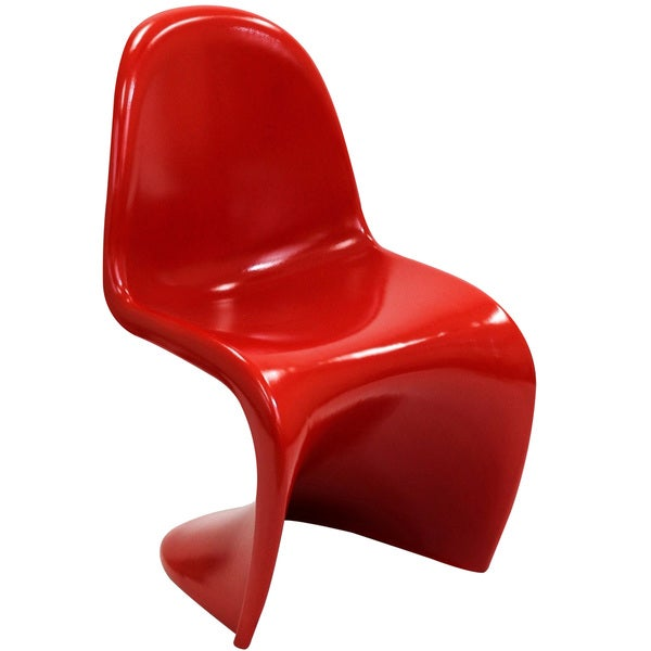 Small 'S' Style Red Plastic Chair