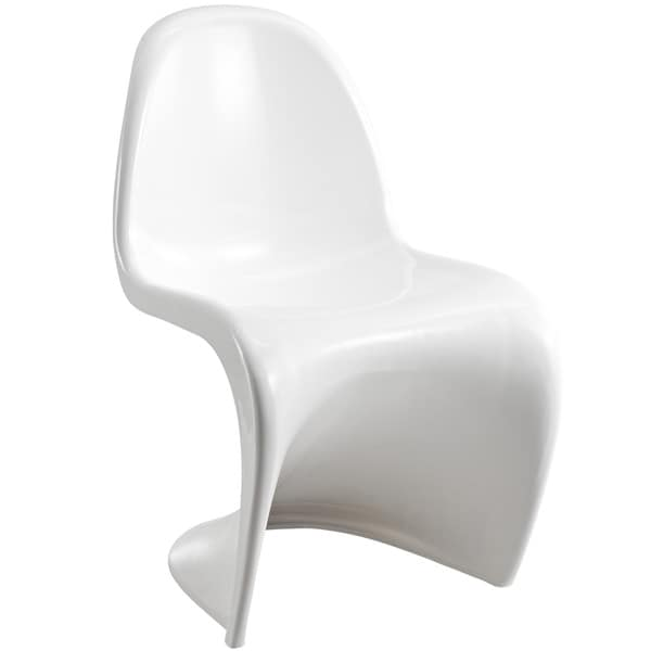 'S' Style Off-white Chair
