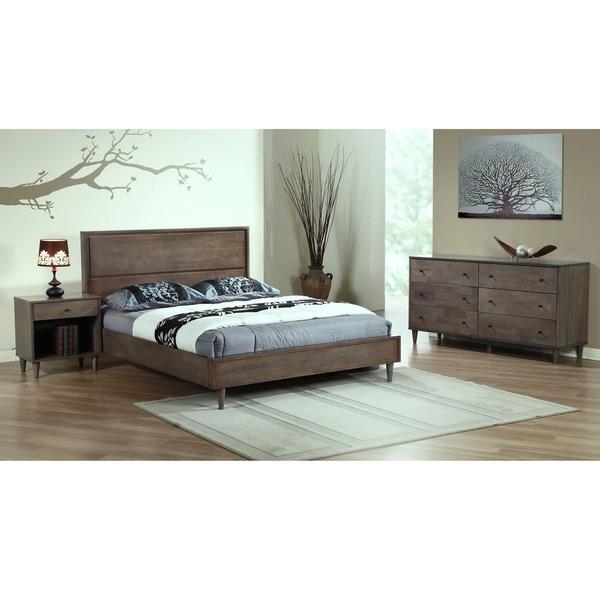 Vilas Light Charcoal King Bed