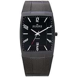 Skagen Men's Black Titanium Watch