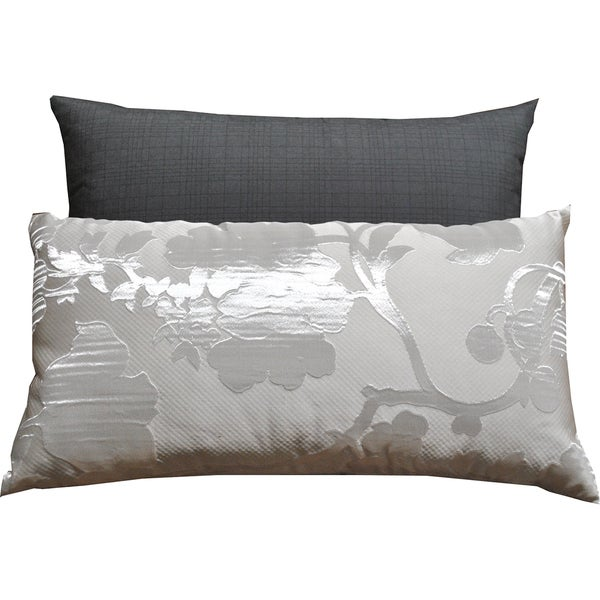 everrouge white lotus 7piece queen cotton duvet cover set free shipping today