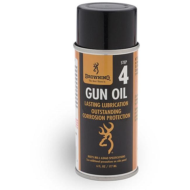 Browning Step 4 6-ounce Aerosol Gun Oil