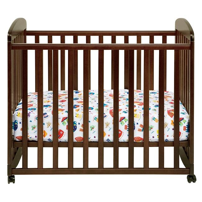 Davinci Alpha Mini Rocking Crib In Espresso Free Shipping Today Overstock Com 14231503