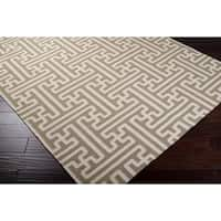 """Hand-woven Ancient Wool Area Rug - 2'6"""" x 8'"""