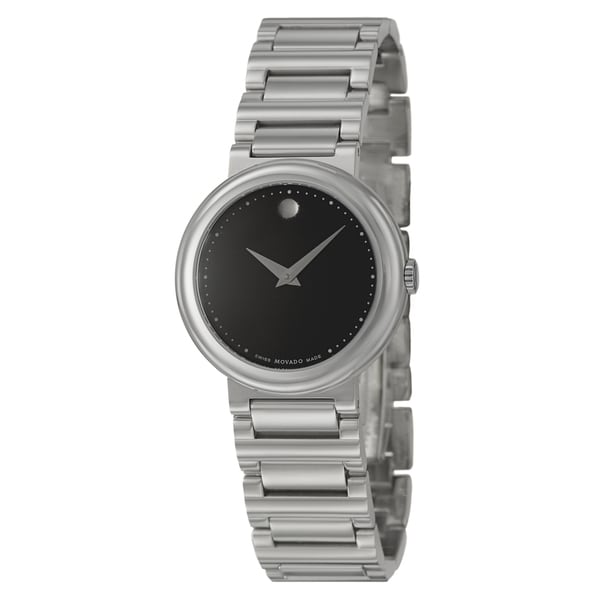 Movado Women's 0606419 'Concerto' Stainless Steel Watch