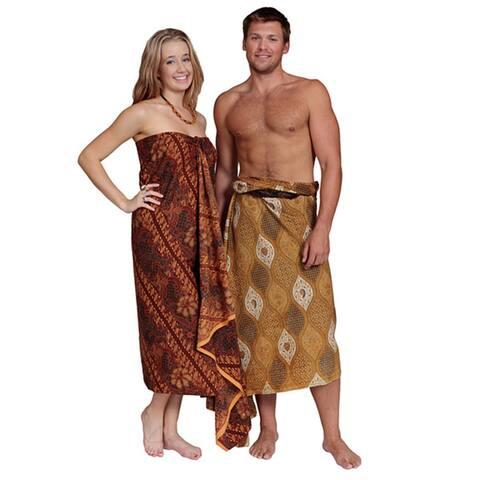 Handmade 1 World Sarongs Women's Traditional Male/Female Indonesian Sarongs (Indonesia)