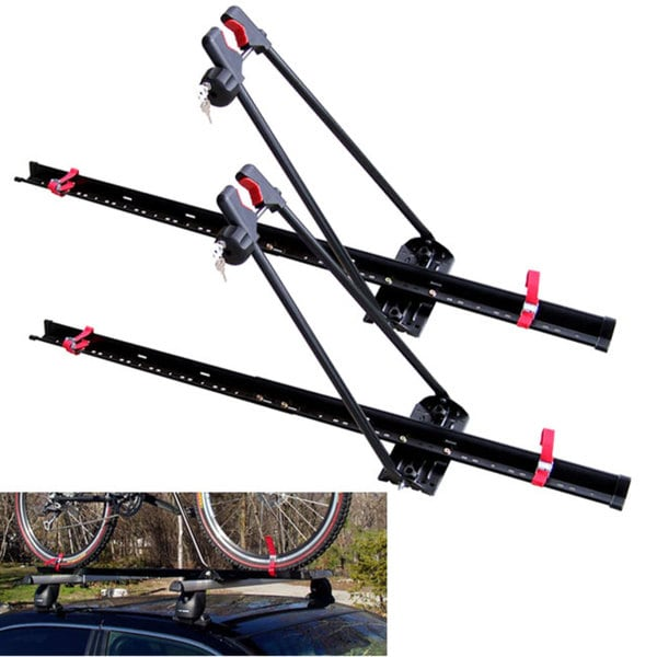 Swagman Locking Upright Stainless Steel Roof Rack (Pack of 2)