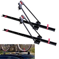 Black Bicycle Racks