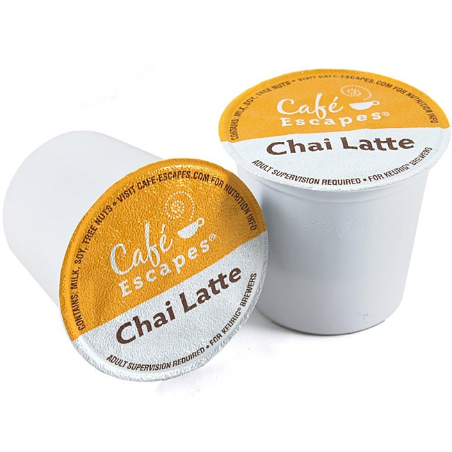 Green Mountain Coffee Roasters Gourmet Single Cup Coffee Chai Latte K-Cups