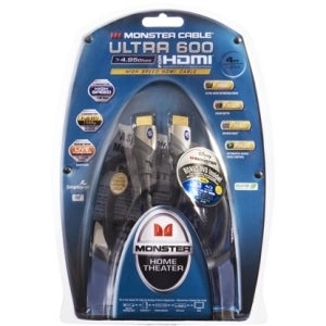 Monster Cable Ultra 600 U3 V600 HDMI-8 HDMI Cable