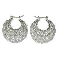 Handmade Sterling Silver Origins of Life Earrings (Indonesia)