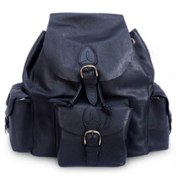 Handmade Leather 'Black Deluxe' Backpack (Mexico) https://ak1.ostkcdn.com/images/products/6676746/Leather-Black-Deluxe-Backpack-Mexico-P14233440ab.jpg?_ostk_perf_=percv&impolicy=medium