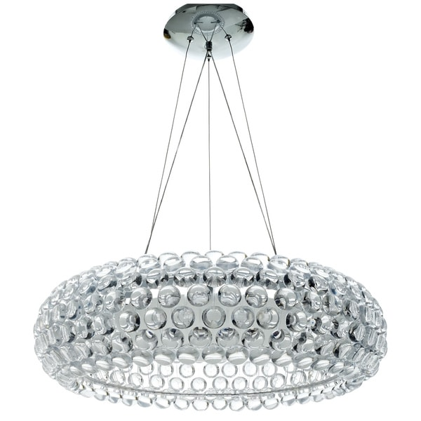 Shop Caboche Style Acrylic Crystal Chandelier Free Shipping Today - Chandelier acrylic crystals