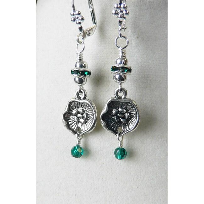 Elizabeth II' Dangle Earrings