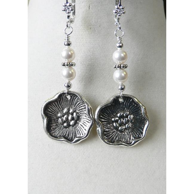 'Elizabeth I' Dangle Earrings