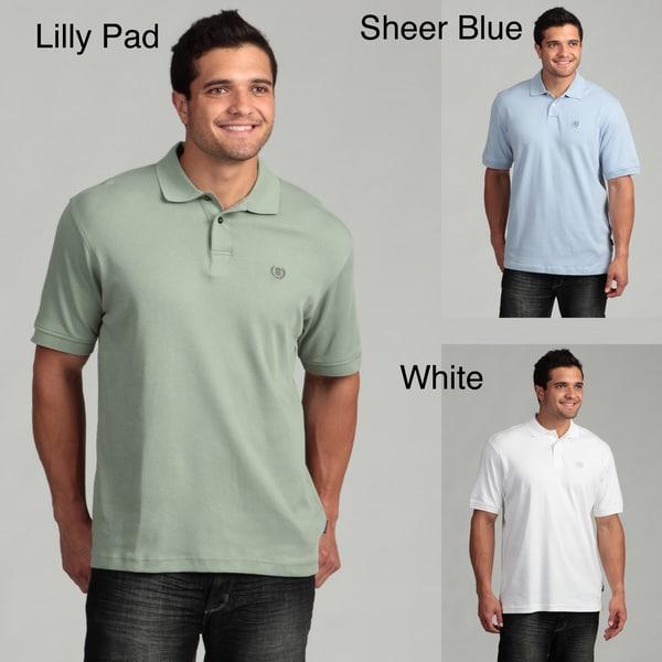 Izod Men's Ribbed Cuff Polo Shirt