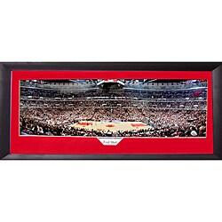 Chicago Bulls U0027Foul Shotu0027 Panoramic Frame