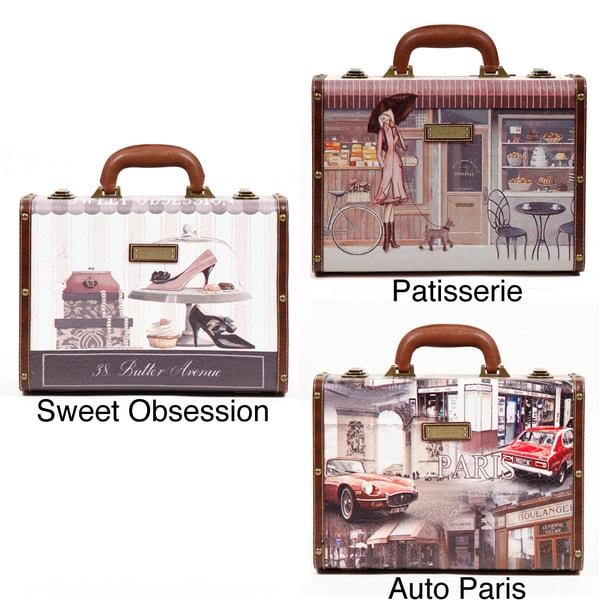 Nicole Lee Camilla Women's Vinatage Style 14-inch Briefcase