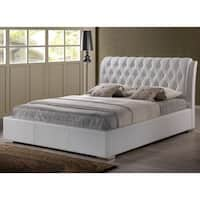 Oliver & James Cheri White King-size Platform Bed