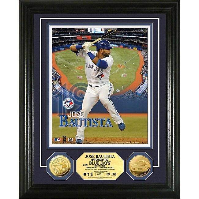 Jose Bautista Gold Coin 'Showcase' Photo Mint