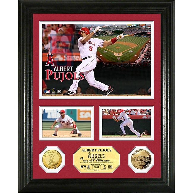 Albert Pujols Gold Coin 'Showcase' Photo Mint