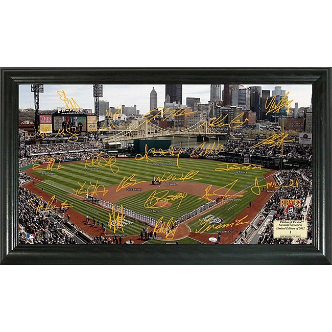 Pittsburgh Pirates Signature Field Frame