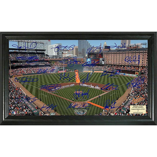 Baltimore Orioles Signature Field Frame - Thumbnail 0