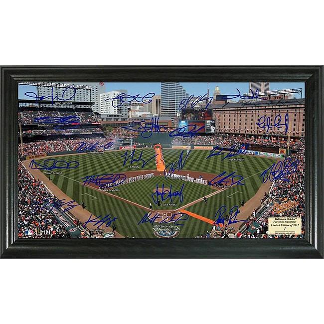 Baltimore Orioles Signature Field Frame