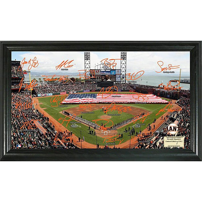 San Francisco Giants Signature Field Frame
