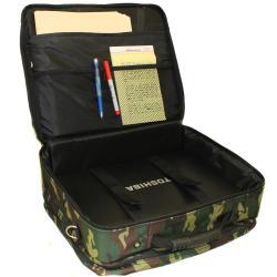 World Traveler Camouflage Rolling 17-inch Laptop Case - Thumbnail 2