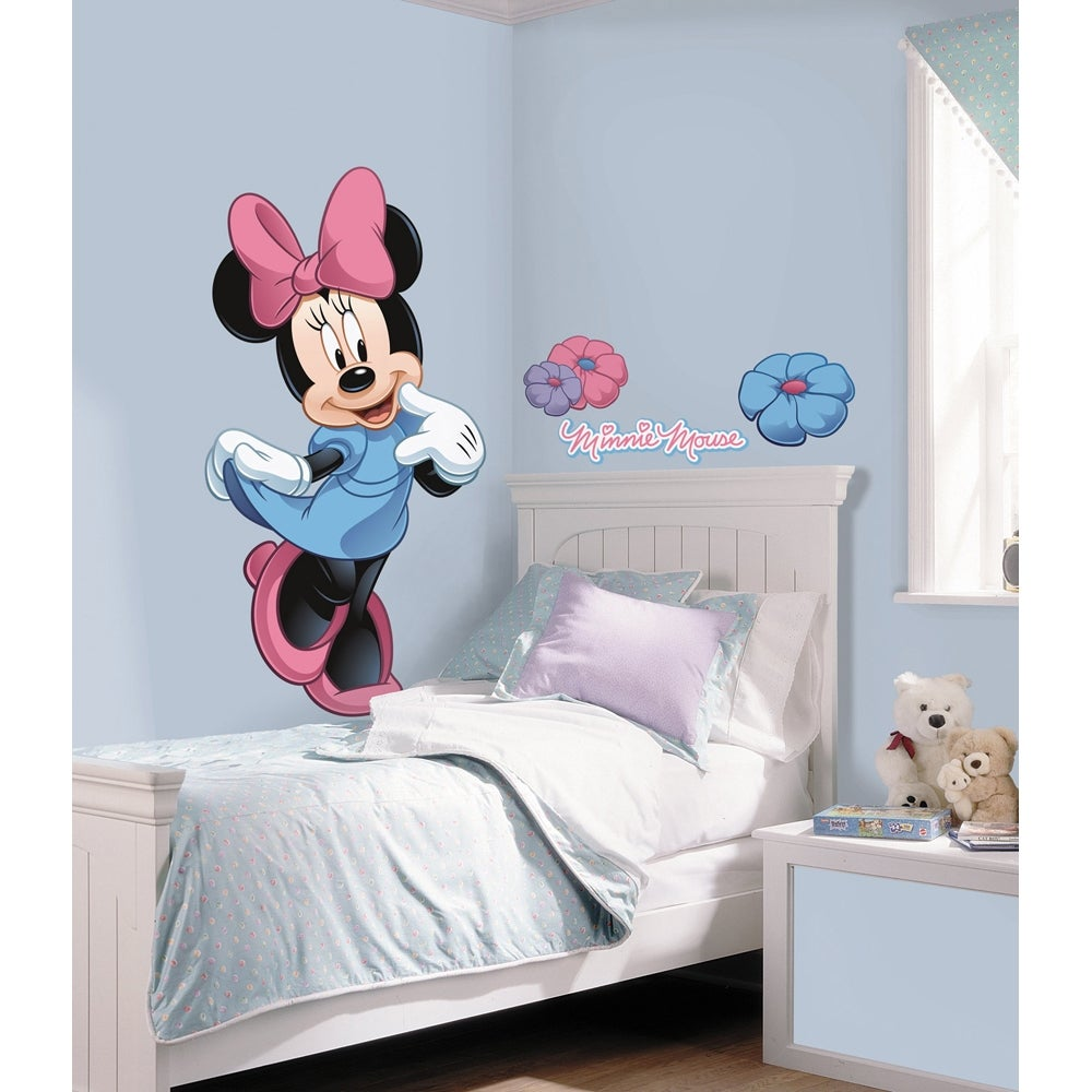 Minnie Mouse Peel and Stick Giant Wall Decal