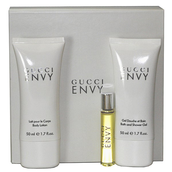 a0ed0c3dc Shop Gucci Women's Envy 3-piece Gift Set - Free Shipping On Orders Over $45  - Overstock - 6677837
