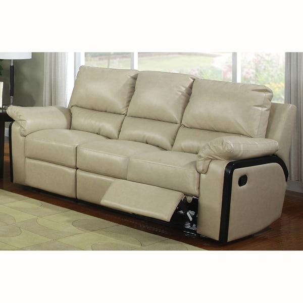 Brian Bonded Leather Sofa