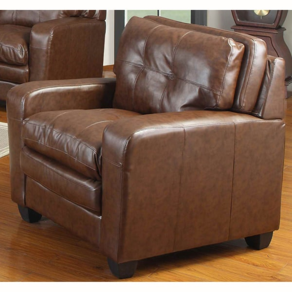Edward Bonded Leather Chair