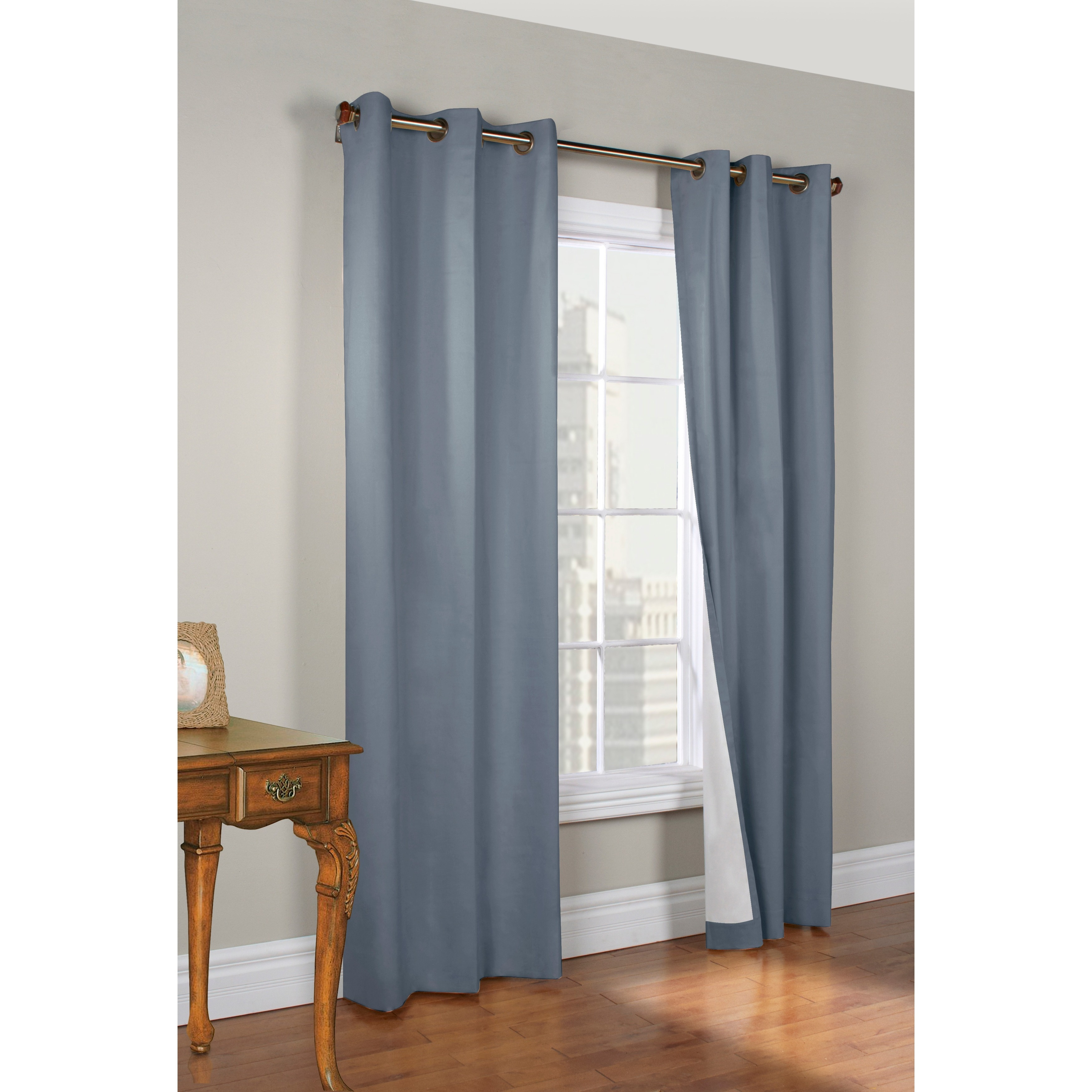 Palm Canyon Lucent  Insulated 63-inch Curtain