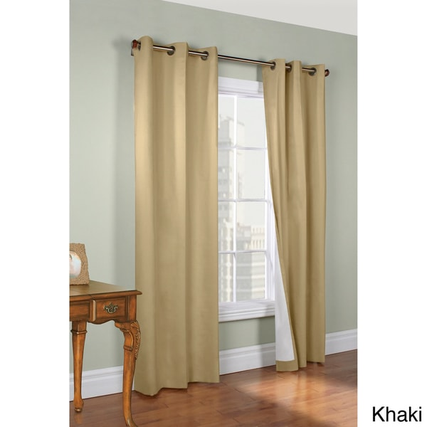 Thermalogic Weathermate Insulated 63-inch Curtain Panel Pair