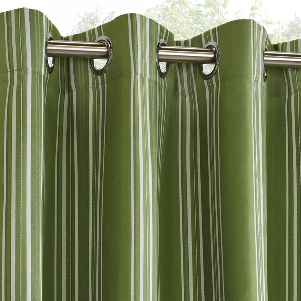 Shop Gazebo Stripe Grommet Top 96 Inch Indoor Outdoor