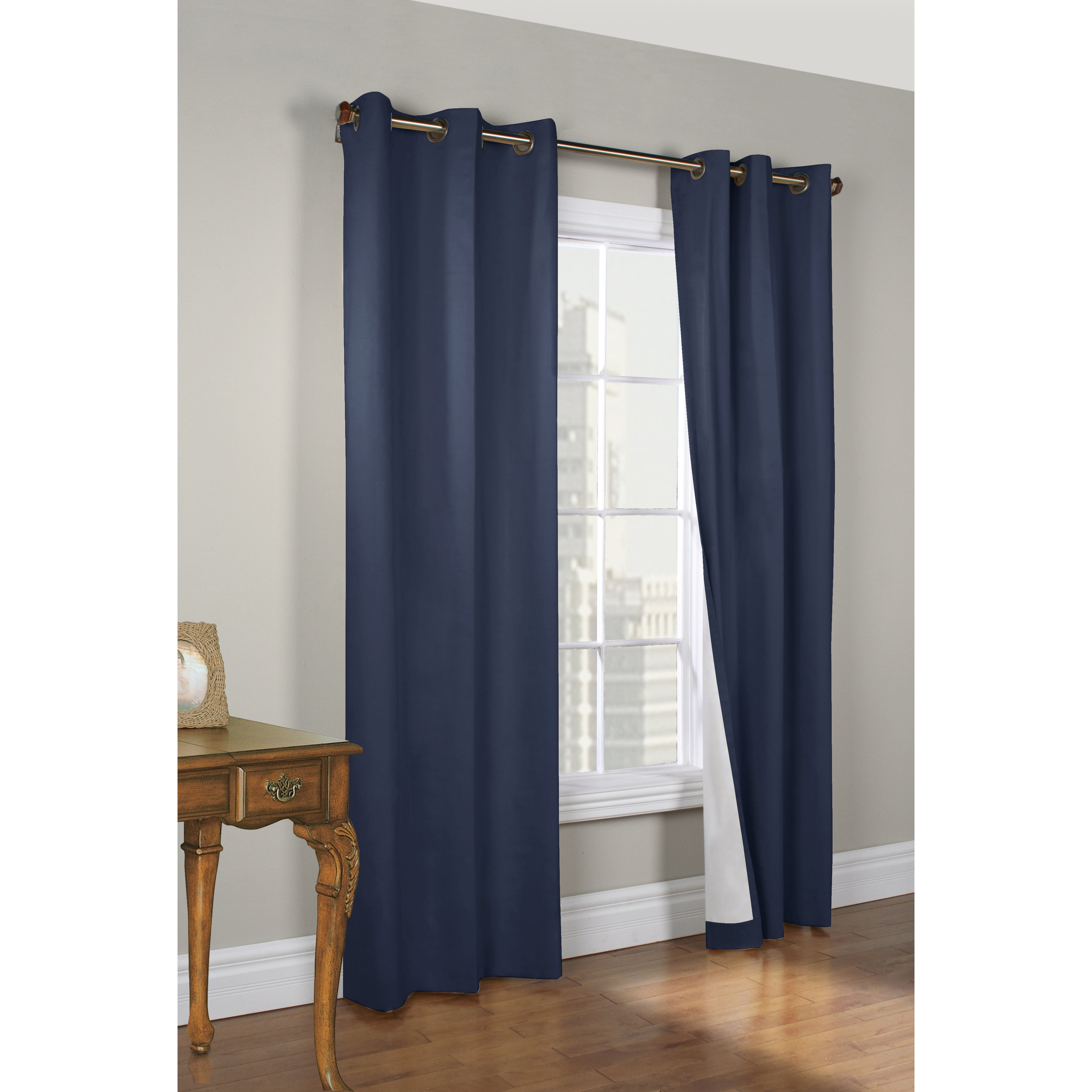 Weathermate Thermalogic Insulated 84-inch Curtain Panel P...