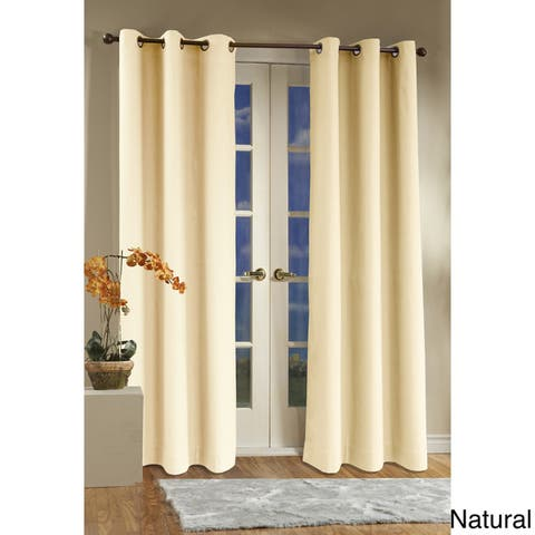 Thermalogic Weathermate Insulated Grommet Curtain Panel Pair