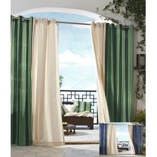 Gazebo Outdoor Stripe Panel 84 inch Indoor/ Outdoor Curtain Panel - 50 x 84
