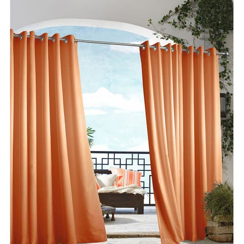 Gazebo Grommet Top Indoor / Outdoor Curtain Panel