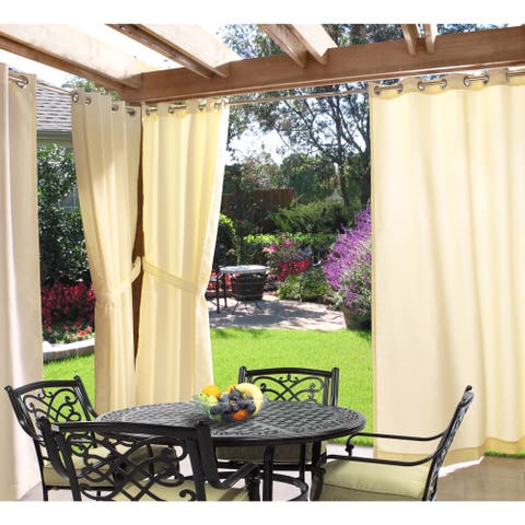Gazebo Grommet Top Indoor / Outdoor Curtain Panel