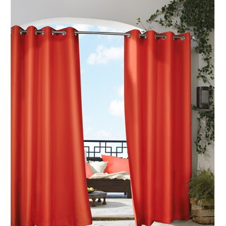 Grommet Top Indoor / Outdoor Curtain Panel (More options available)