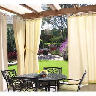 Grommet Top Indoor Outdoor Curtain Panel