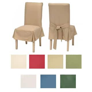 Classic Cotton Duck Dining Chair Slipcovers (Set of 2)|https://ak1.ostkcdn.com/images/products/6677953/P14234352.jpg?impolicy=medium