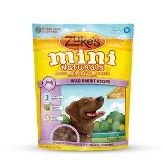 Zuke Dog Mini Naturals Wild Rabbit 6 oz