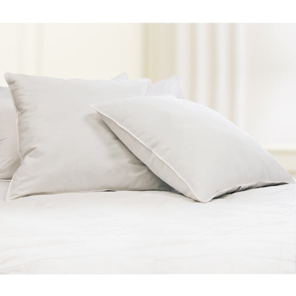 European 26-inch Square 230 Thread Count Down Alternative Pillow (Set of 2)