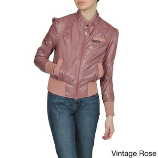 Members Only Women's Classic Bomber Jacket
