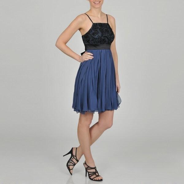 Decode 1.8 Women's Contemporary Beaded Social Dress